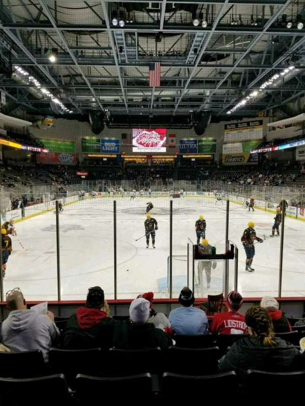 Huntington Center, section: 101, row: J, seat: 15