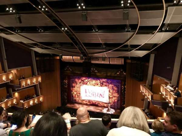 Ahmanson Theatre, section: Balcony, row: D, seat: 11