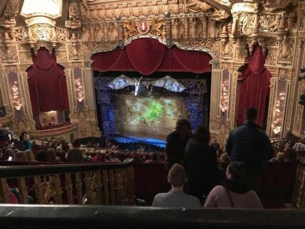 James M. Nederlander Theatre, section: Balcony r, row: P, seat: 360