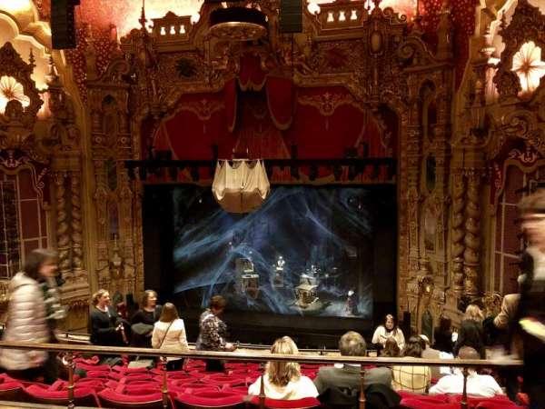 Ohio Theatre (Columbus), section: Mezzanine B, row: B, seat: 6