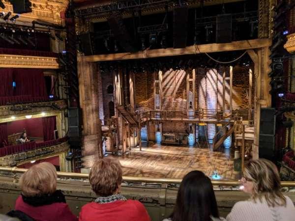 CIBC Theatre, section: Mezzanine, row: C, seat: 320