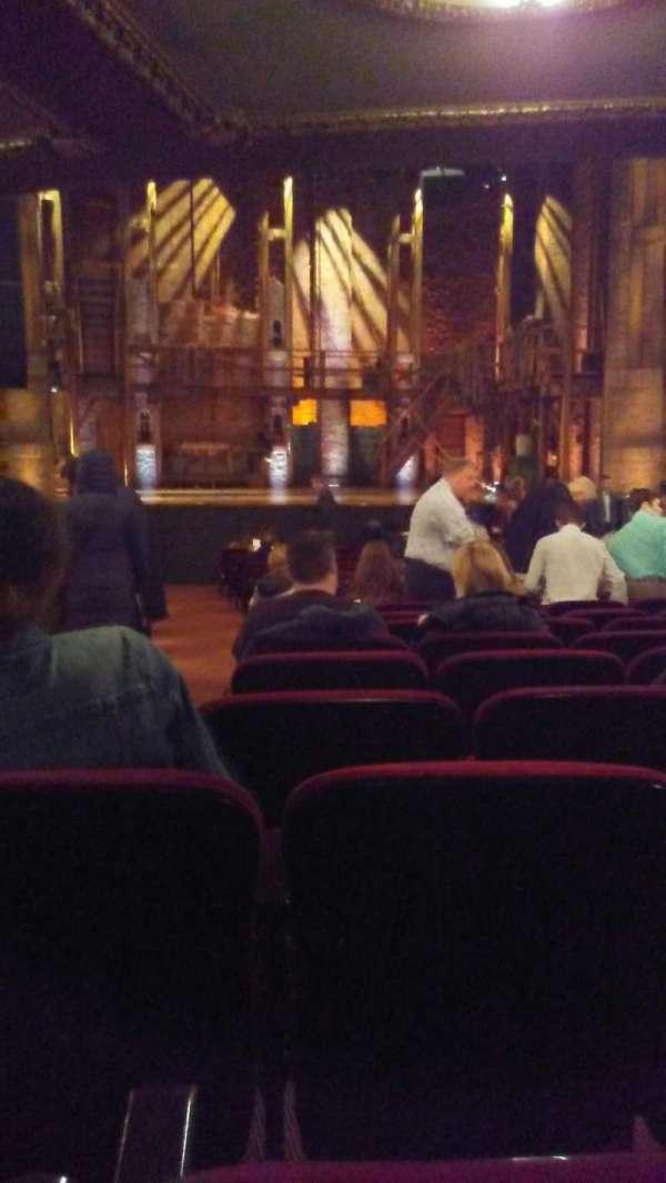 CIBC Theatre, section: Orchestra C, row: X, seat: 114