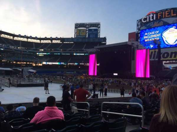 Citi Field, section: 110, row: 7, seat: 13