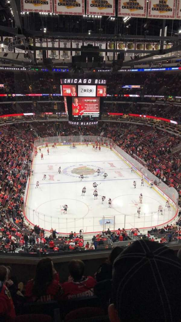 United Center, section: 327, row: 6, seat: 7