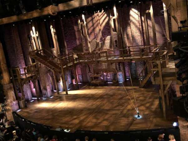 Richard Rodgers Theatre, section: Front Mezzanine R, row: A