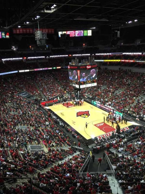 KFC Yum! Center, section: 303, row: D, seat: 13