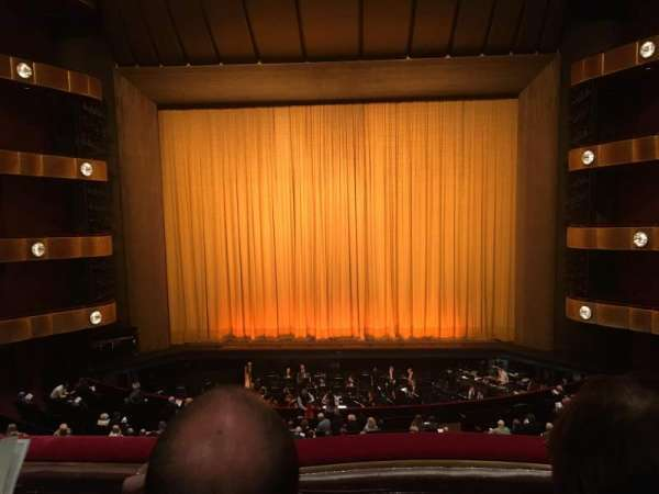 David H. Koch Theater, section: 2nd ring, row: B, seat: 110