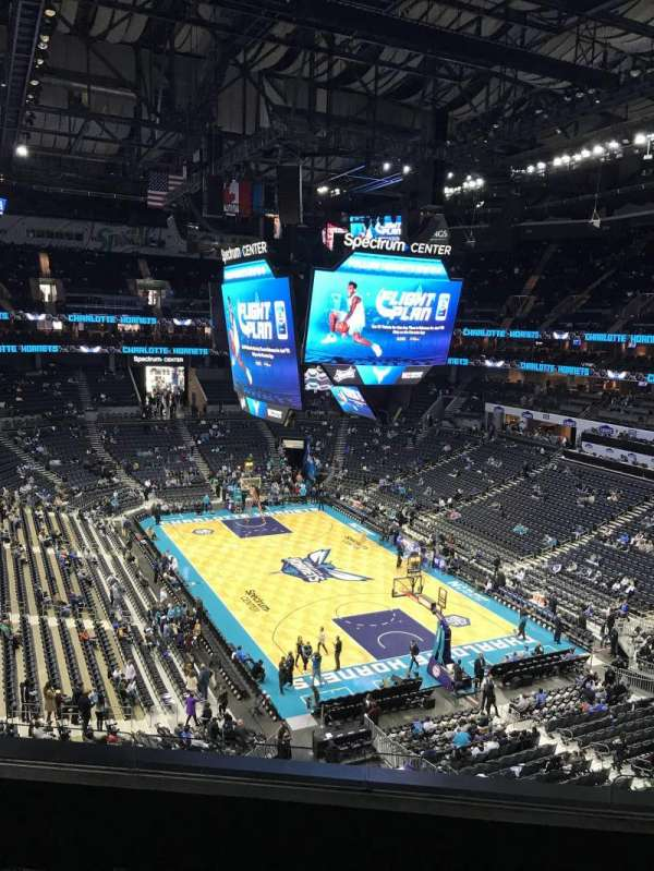Spectrum Center, section: 220, row: A4, seat: 7-10