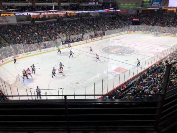 Huntington Center, section: 220, row: B, seat: 3
