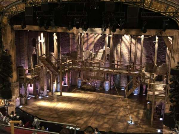 Richard Rodgers Theatre, section: Front Mezzanine R, row: f, seat: 8