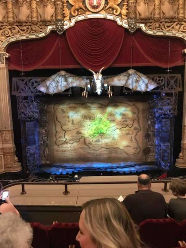 Oriental Theatre, section: LOGE-C, row: D, seat: 304