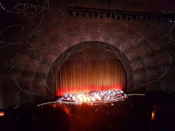 Radio City Music Hall, section: 3rd Mezzanine 6, row: D, seat: 601
