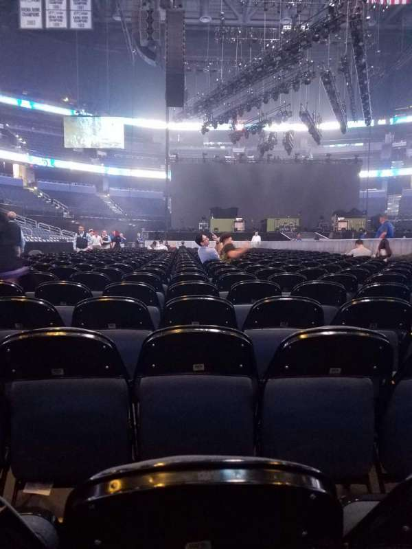Amalie Arena, section: Floor 6, row: 15, seat: 11