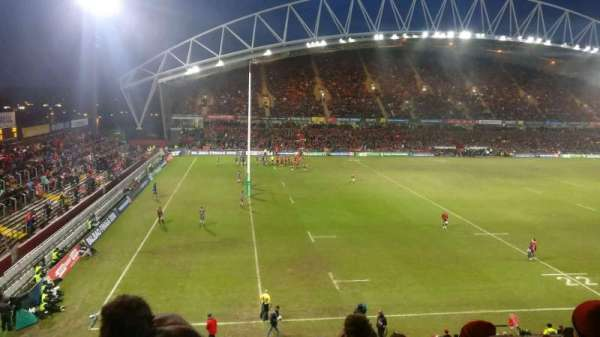 Thomond Park, section: 220, row: q, seat: 225