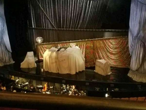 Majestic Theatre, section: Front Mezzanine R, row: A, seat: 6