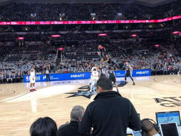 AT&T Center, section: 24, row: 4, seat: 13