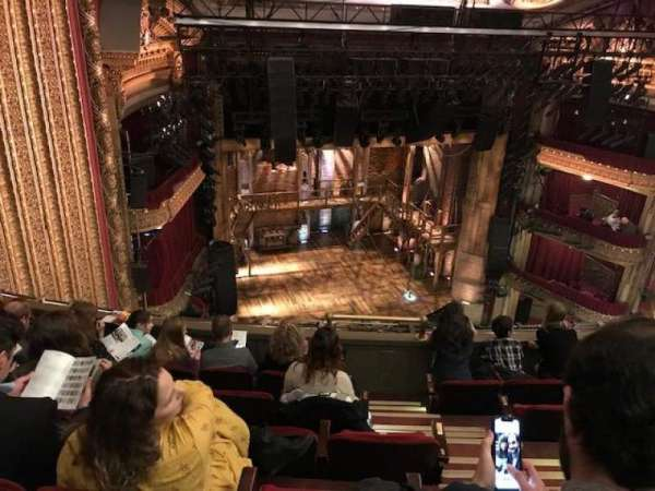 CIBC Theatre, section: balcony l, row: f, seat: 6