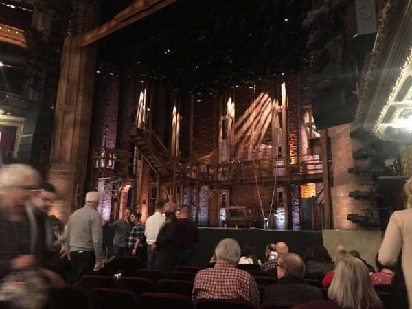 CIBC Theatre, section: Orchestra R, row: K, seat: 18