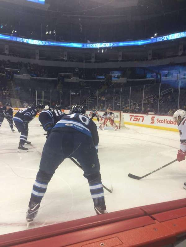 Bell MTS Place, section: 117, row: 1, seat: 6