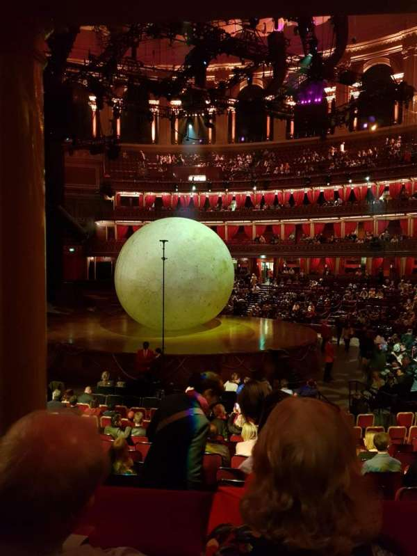 Royal Albert Hall, section: Loggia 09, seat: 7 and 8