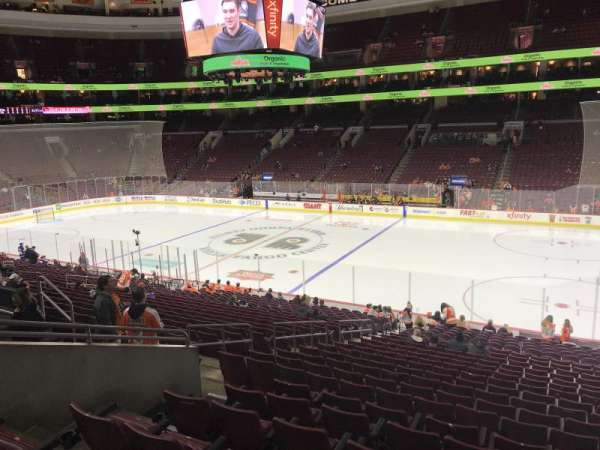 Wells Fargo Center, section: Club Box 15, row: 1, seat: 6