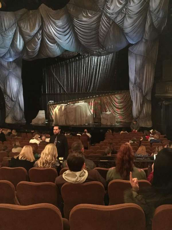 Majestic Theatre, section: Orchestra r, row: O, seat: 14