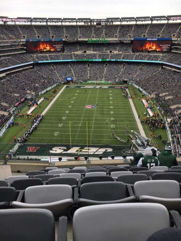 reputable site 28e2c bdd64 MetLife Stadium, section 325, home of New York Jets, New ...