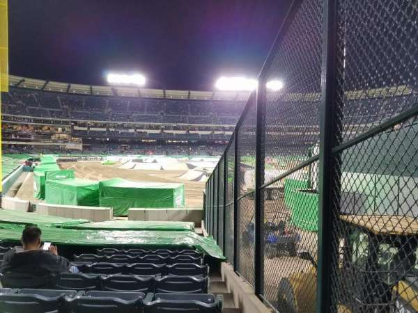 Angel Stadium, section: F135, row: U, seat: 18