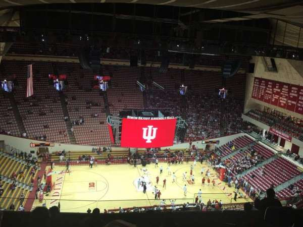 Assembly Hall (Bloomington), section: DD, row: 8, seat: 105