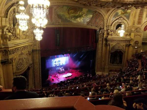 Chicago Theatre, section: Balcony Box 8, seat: 63