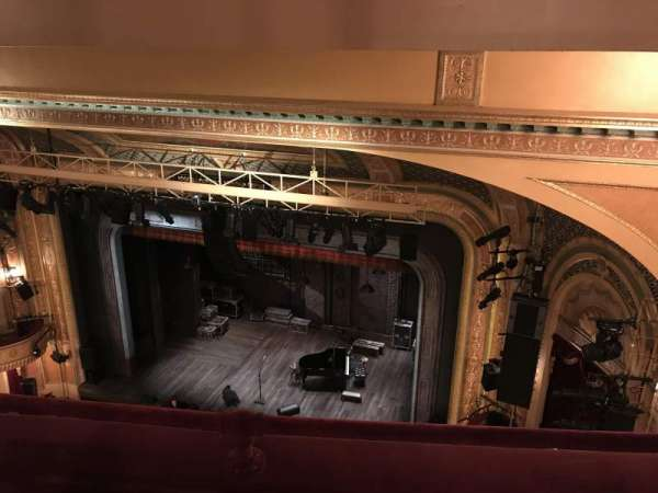 Walter Kerr Theatre, section: Balcony R, row: B, seat: 20