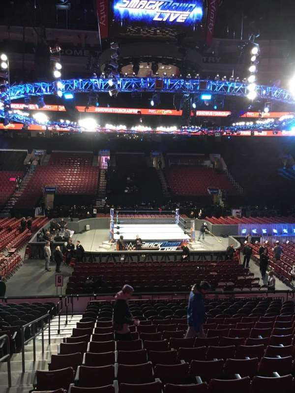 Wells Fargo Center, section: 114, row: 13, seat: 4