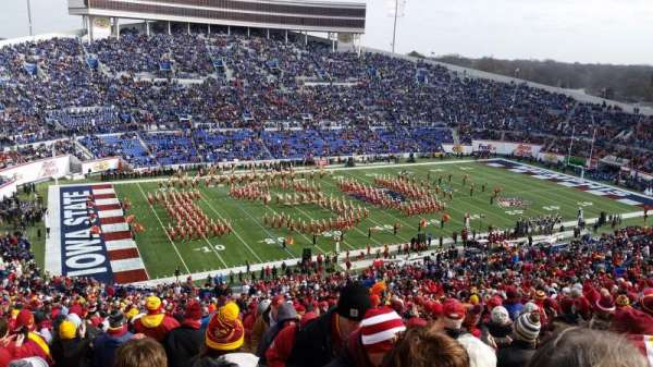 Liberty Bowl Memorial Stadium, section: 108, row: 81, seat: 1,2