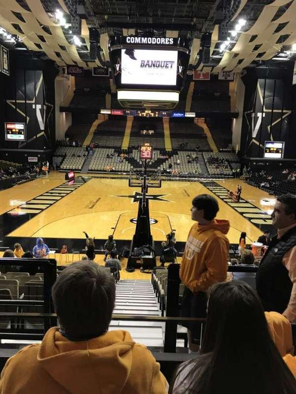 Memorial Gymnasium (Vanderbilt), section: F, row: 3, seat: 42