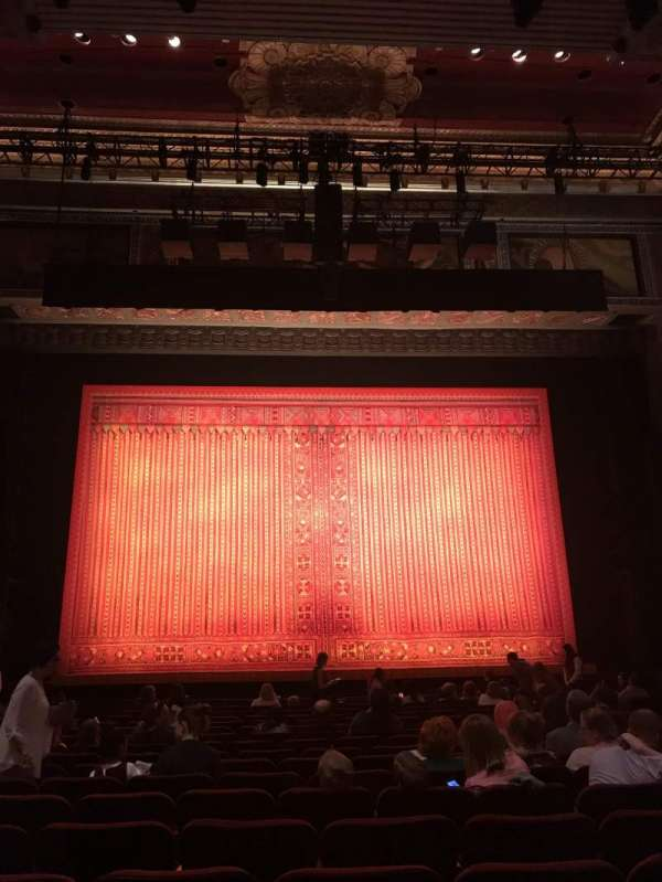 Hollywood Pantages Theatre, section: ORCHC, row: R, seat: 109