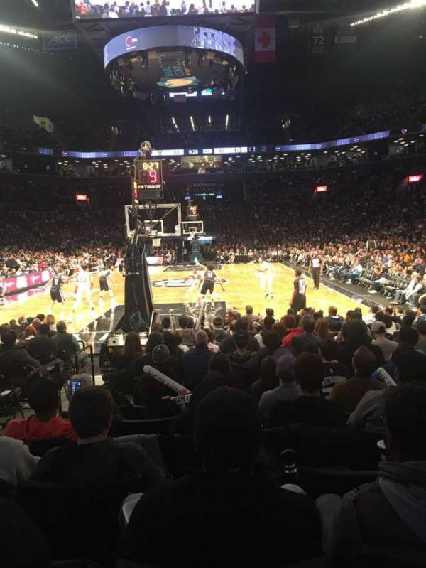 Barclays Center, section: 31, row: 7, seat: 10