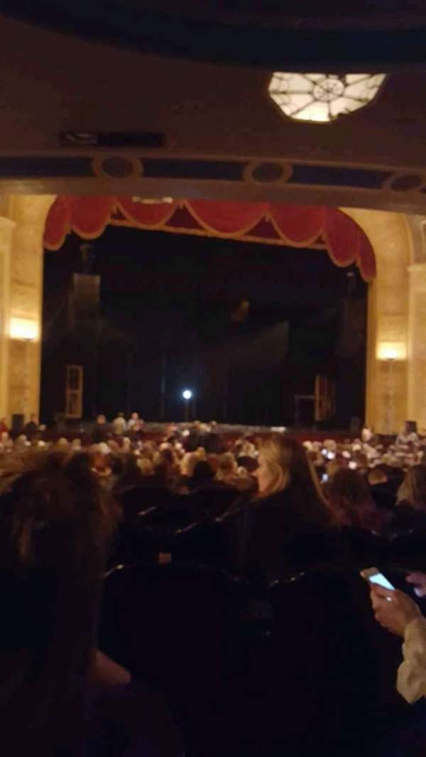 Detroit Opera House, section: Aisle 3, row: Y, seat: 117