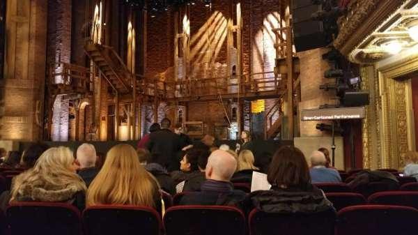 CIBC Theatre, section: Orchestra R, row: L, seat: 14