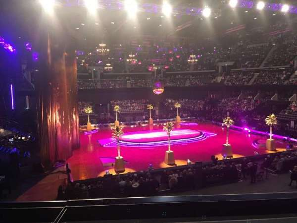 The SSE Hydro, section: 201, row: B, seat: 9