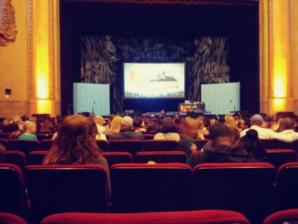 Balboa Theatre, section: Orch, row: M, seat: 115