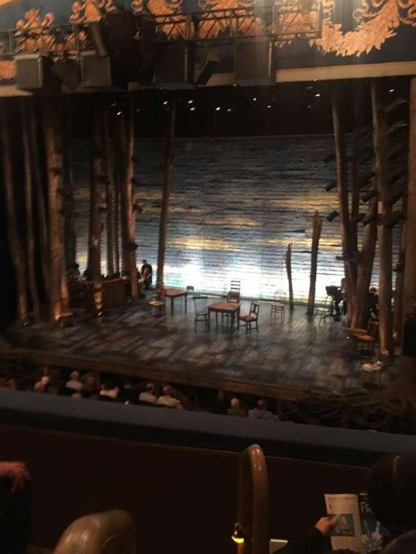 Gerald Schoenfeld Theatre, section: Mezzanine R, row: C, seat: 2