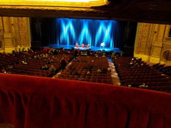 Chicago Theatre, section: Mezzanine Box M, seat: 1
