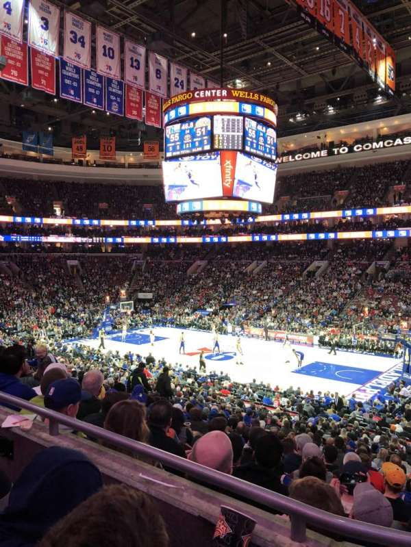 Wells Fargo Center, section: CB15, row: 2, seat: 16