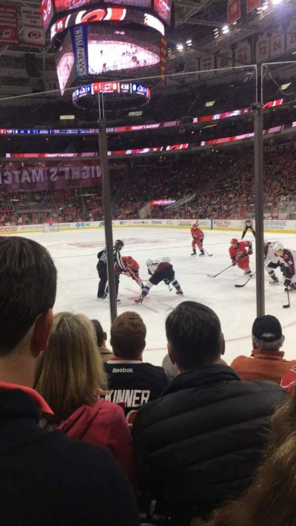PNC Arena, section: 128, row: E, seat: 9