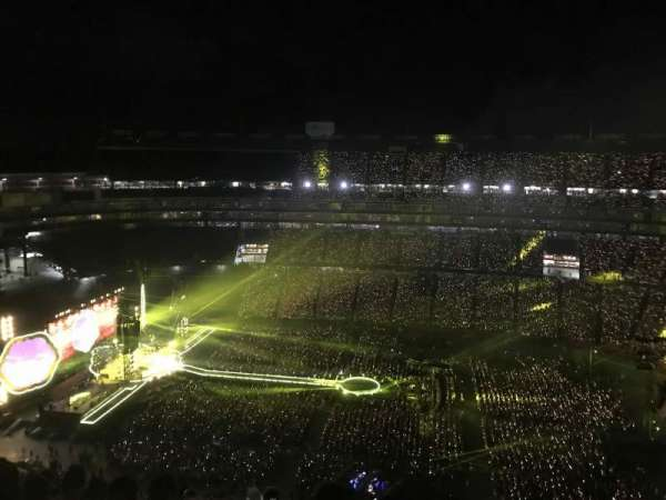 Gillette Stadium, section: 309, row: 20, seat: 7