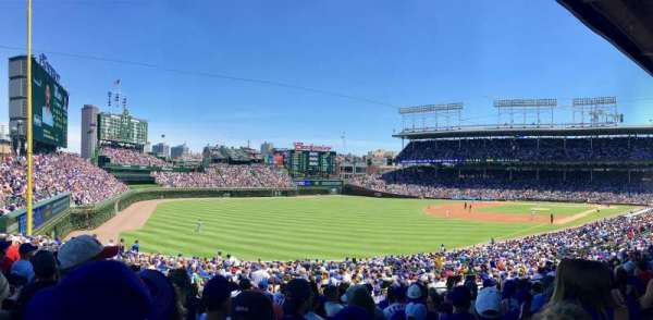 Wrigley Field, section: 202, row: 14, seat: 5