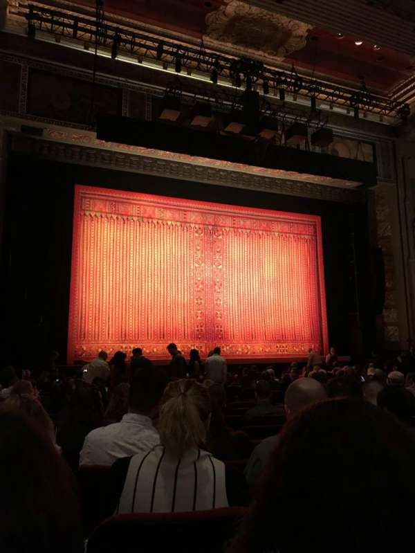 Hollywood Pantages Theatre, section: Center Left, row: T, seat: 307