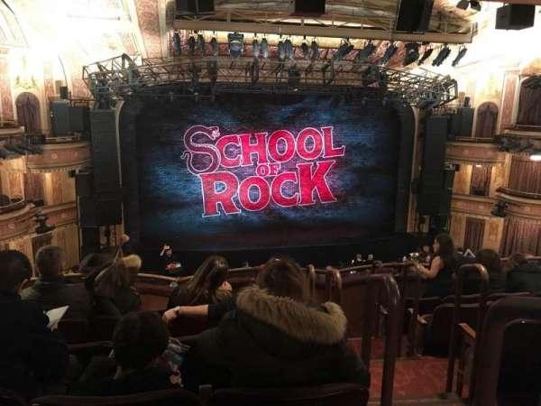 Winter Garden Theatre, section: Mezzanine LC, row: F, seat: 101