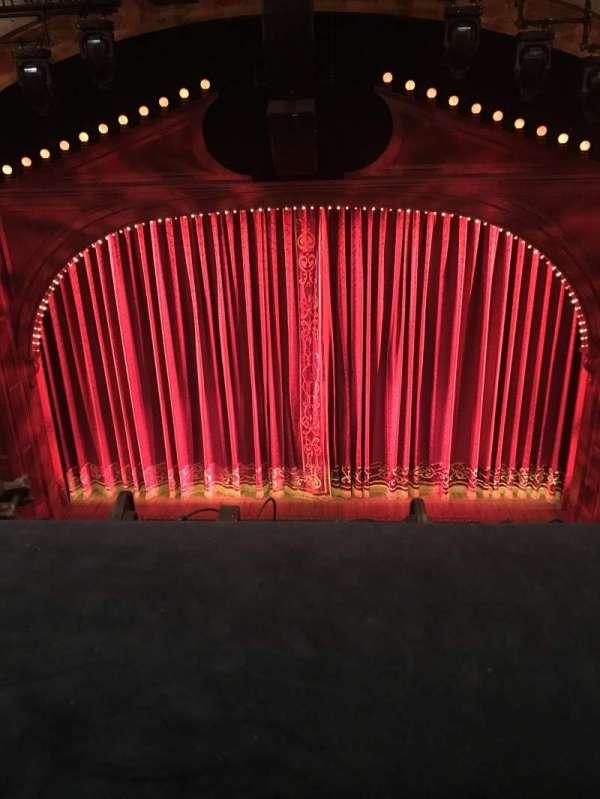 Shubert Theatre, section: Balcony C, row: A, seat: 106