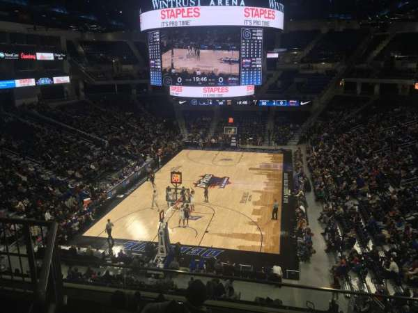 Wintrust Arena, section: 202, row: E, seat: 4